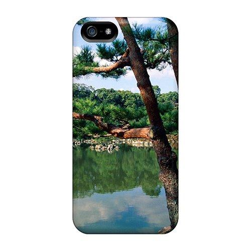 Excellent Design Kinkaku Ji Temple Kyoto Japan Phone Case For Iphone 5/5s Premium Tpu Case