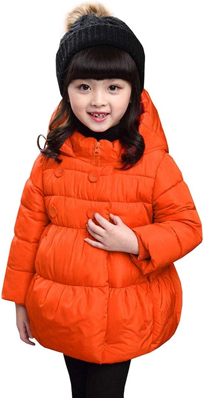 LSERVER Baby Boy Girl Toddler Fashion Winter Down Jacket Cute Coat Stylish Warm Outerwear