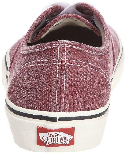Bestelwagens Authentiek, Unisex-adult Sneakers Rood / Wit