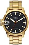 Nixon Men's A441510 Gold Stainless-Steel Swiss Quartz Dress Watch