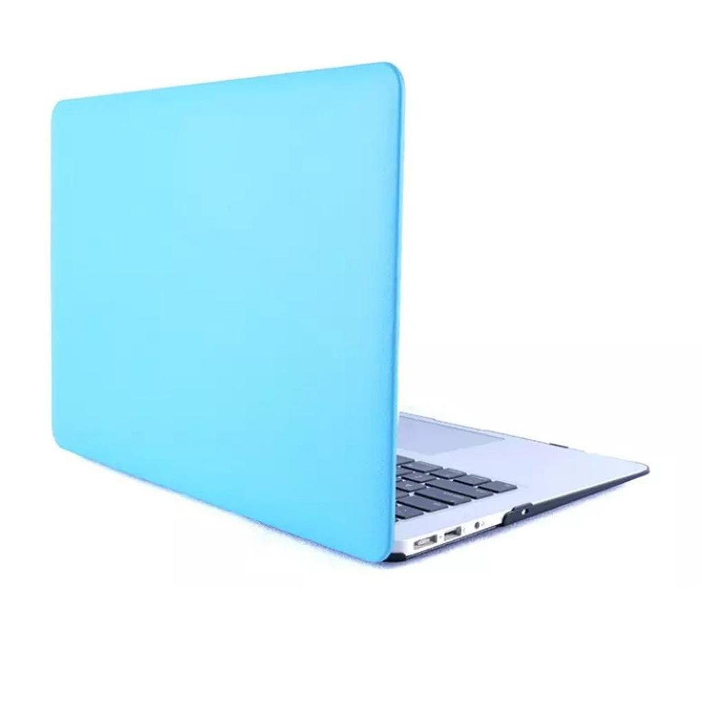 Hunputa Protective Cover Matte Hard Case For Macbook air 13-inch PC Hard Notebook Bag (Blue)