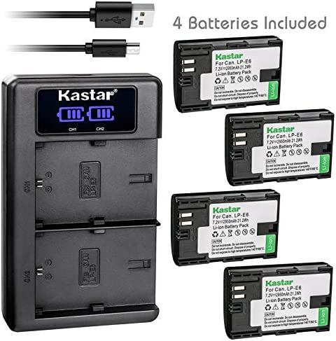 Kastar Charger Battery Blackmagic Marshall product image