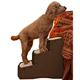 Pet Gear Easy Step III Pet Stairs, Extra Wide, Chocolate