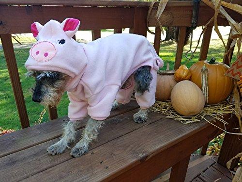 Dog Pig Costume Pet Pig Cat Pig Costume -