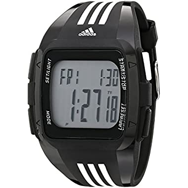 adidas Unisex ADP6089 Duramo XL Digital Black Watch with Polyurethane Band