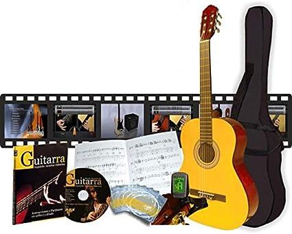 Pack guitarra niños de 7 a 11 años: Amazon.es: Instrumentos musicales