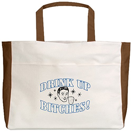 royal-lion-beach-tote-2-sided-beer-drink-up-bitches-mocha