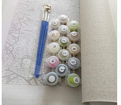 LIWEIXKY LIWEIXKY LIWEIXKY Bilder DIY Malen Nach Tierzahlen Malerei Und Kalligraphie DIY Farbton Nach Zahlen Auf Leinwand - Rahmenlos - 40x50cm B07PQ8T7J3 | Kaufen  7c1dfc