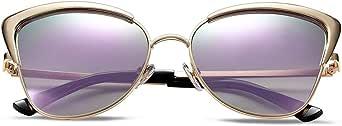 نظارات شمسية للنساء بتصميم كات آي للنساء نظارات شمسية تحمي النظارات الشمسية