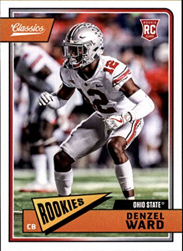 Amazon.com  2018 Classics Football  202 Denzel Ward Ohio State Buckeyes RC  Rookie Panini NFL Card  Collectibles   Fine Art cb0c4a17a
