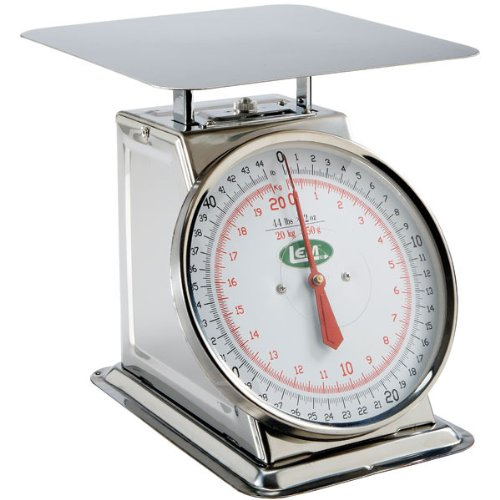 44 lb. Stainless Steel Scale by LEM