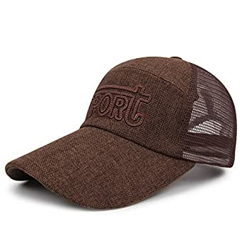 Brown Baseball & Snapback Hat For Men