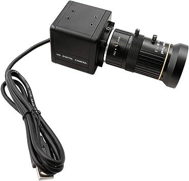 Opinión sobre 1080P 2MP CS varifocal 5-50mm Mini Box Case High Speed Webcam 60fps 120fps UVC Plug Play Android Linux Windows Mac USB Camera
