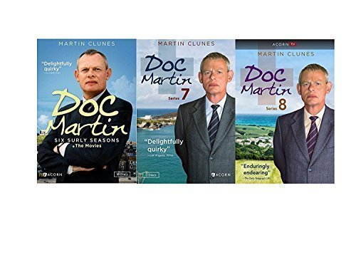 Studio1 Doc Martin: Complete Series Seasons 1-8 DVD