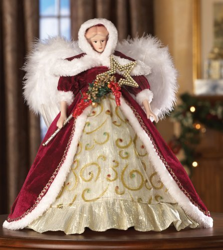 Collections Etc - Winter Wendy Collectible Holiday Doll