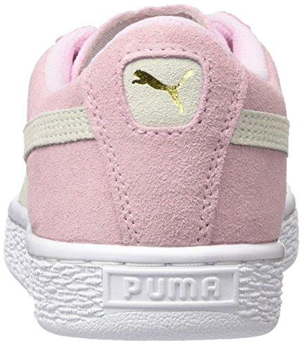 Zapatillas team Para Lady Niños pink Rosa Unisex Jr Suede white Puma 30 Gold Uvx6Wq