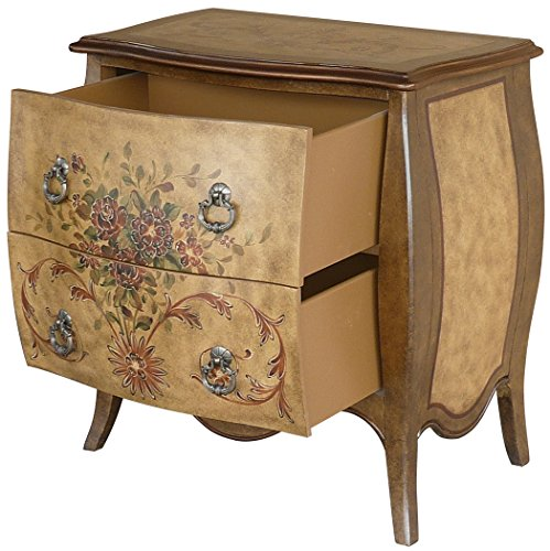 Lux Home Bombay 2-Drawer Natural Accent Chest