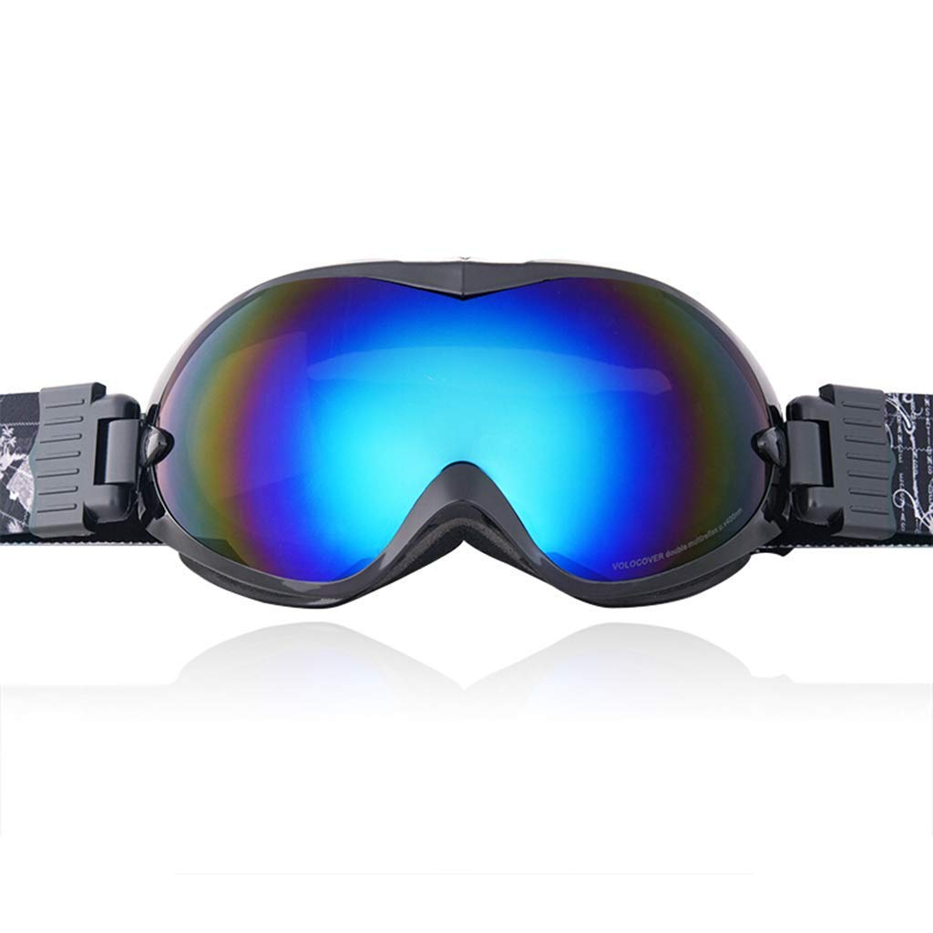 B Ski Goggles Sports Glasses Glasses Professional Eye Predection Ski Glasses DoubleLayer Lens AntiFog And UVJBP9 (color   D)