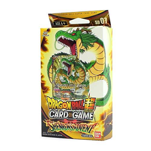 Bandai BCLDBST1237 Dragon Ball Super Card Game: Starter Deck-Shenron Adviento