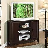 Kyпить Metro II Corner TV Console in Ebony Brown Finish на Amazon.com