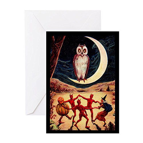 CafePress - Halloween Revel - Greeting Card, Note