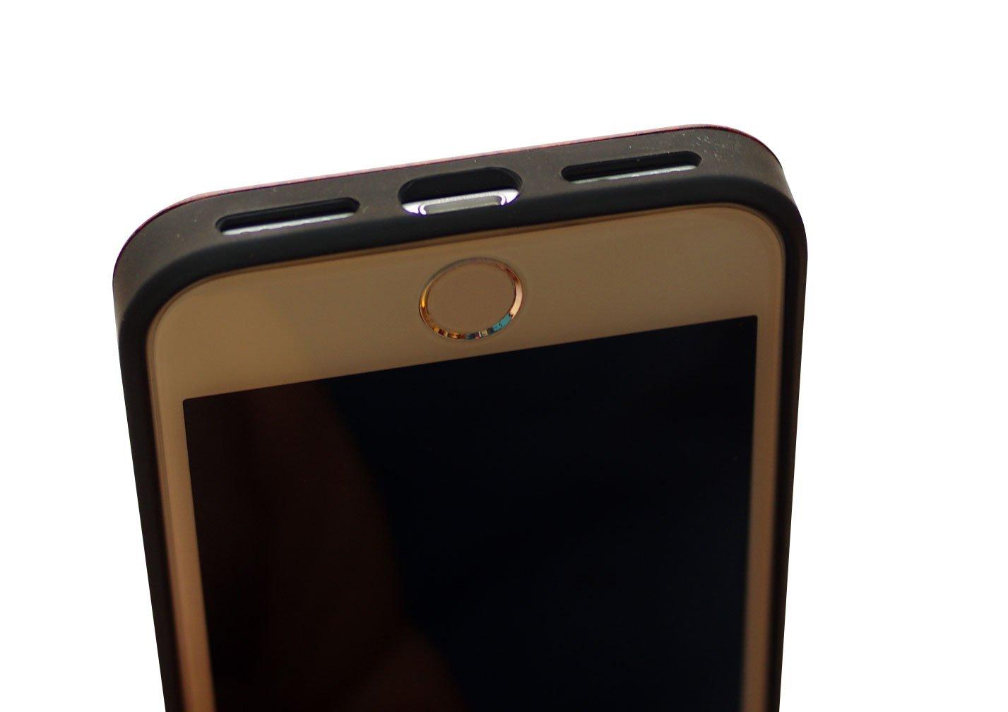 Amazon.com: Madera clásico de sol y luna iPhone 7 Case (4,7 ...