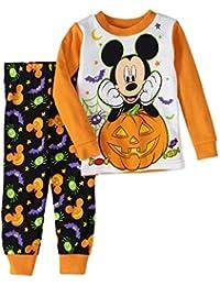 Baby Boys Mickey Mouse Two-Piece Halloween Pajamas