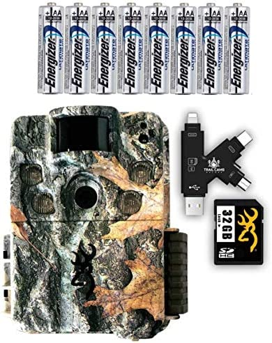 Browning Strike Force HD Pro X Trail Camera with Batteries, SD Card, and Card Reader