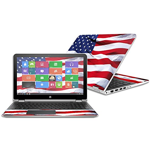 MightySkins Protective Vinyl Skin Decal for HP Pavilion x360 15.6