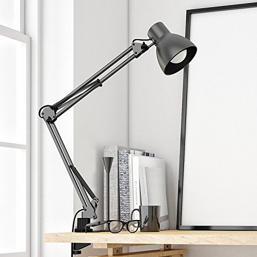 tojane swing arm desk lamp architect desk clamp mounted light import it all. Black Bedroom Furniture Sets. Home Design Ideas