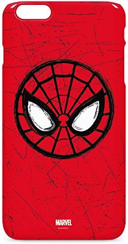 Marvel Spider-Man iPhone 6/6s Plus Lite Case - Spider-Man Face Lite Case For Your iPhone 6/6s Plus