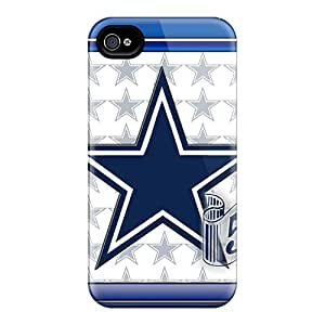 New Dallas Cowboys Tpu Skin Case Compatible With Iphone 4/4s