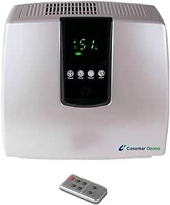 Purificador de aire doméstico digital, ionizador de aire, filtro de carbón activo, filtro HEPA para personas ...