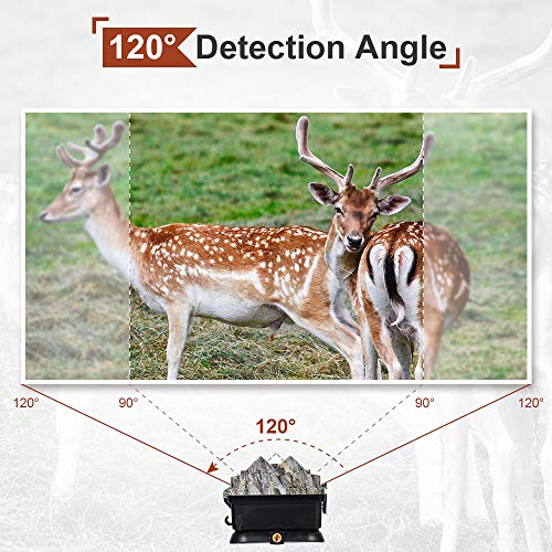Crenova Motion-Activated Game Camera with 32GB Micro Card Included