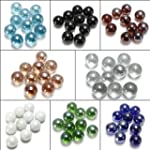"""10pcs 16mm 5/8"""" Glass Player Marbles..."""