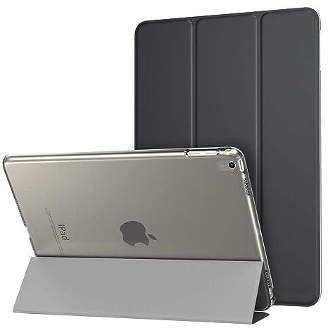 MoKo iPad Pro 9.7 Funda - Slim Folding Cover Funda para Apple iPad Pro 9.7 Inch 2016 Release Tablet, Negro