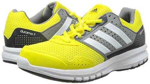 Gris Adidas Blanco De Amarillo Duramo Chaussures Entrainement Running 7 Femme qapwxqSR