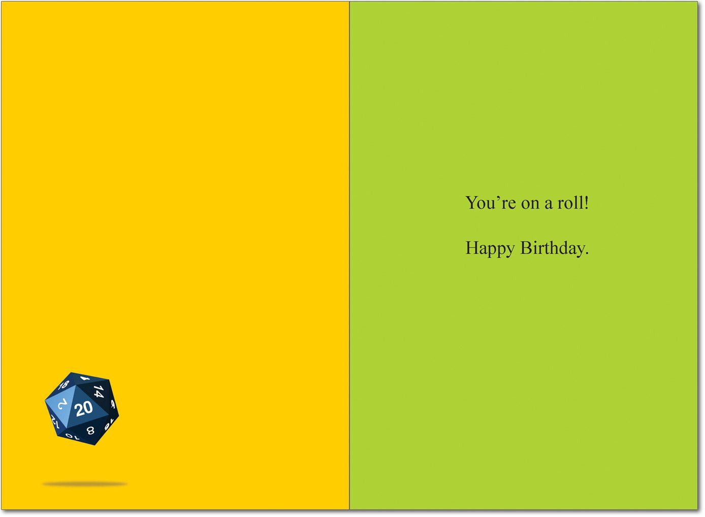 Dungeons And Dragons Birthday Humor Greeting Card Amazon Co