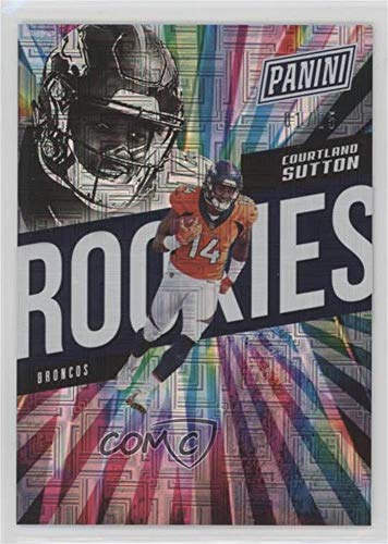 Courtland Sutton #1/25 (Trading Card) 2018 Panini National Convention - [Base] - Escher Squares ()