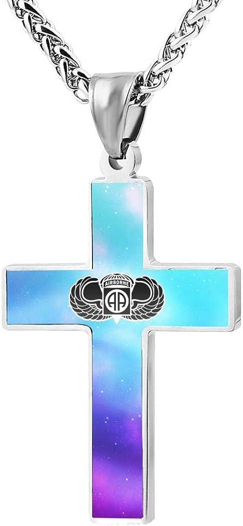 Wnqonnq jewelry men and women zinc alloy simple fashion cross pendant necklace