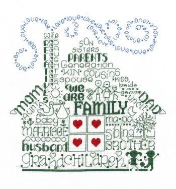 Cross Michael Stitch Ursula (Let's Be Family Cross Stitch Chart)