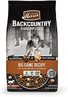product image for Merrick Backcountry Raw Infused Grain Free & with Healthy Grains Dry Dog Food
