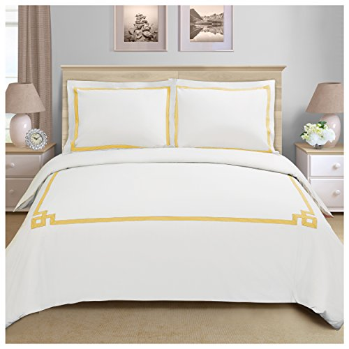Miller 3-Piece Cotton Duvet Cover Set, King/California King,