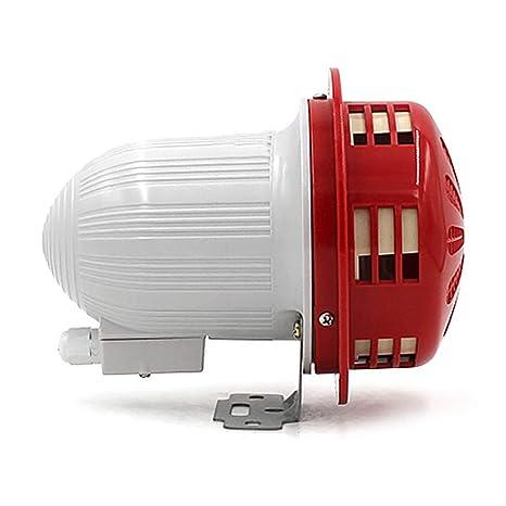 YJINGRUI - Sirena de Alarma eléctrica con Motor de 110 dB ...