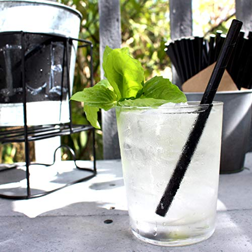 The Spice Lab Rhino White Drinking Eco-Friendly Biodegradable Paper Straws 7.75'', 6mm for Juice, Shakes, Cocktail, Tea, Soda, Milkshakes, Smoothies & Parties (Wrapped - 10000 Count) by The Spice Lab (Image #4)