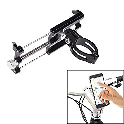 GUB Bike Phone Mount Holder,Bicycle Handlebar Phone Holder Mount Universal Adjustable Rotating Cradle Clamp for Mountain Bike Motorcycle,Fits for iPhone,Samsung Galaxy Android phones