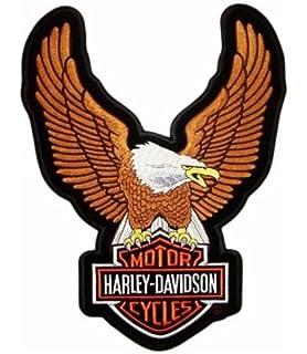 thermocollant ON RICAMI Patch brod/ée Harley Davidson