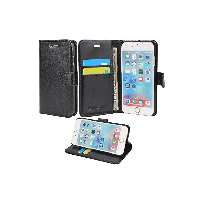 iPhone 6/6s Case, Wisdompro Premium PU L
