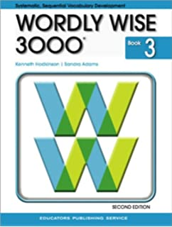 Amazon wordly wise 3000 book 4 9780838824344 kenneth wordly wise 3000 grade 3 student book 2nd edition fandeluxe Choice Image