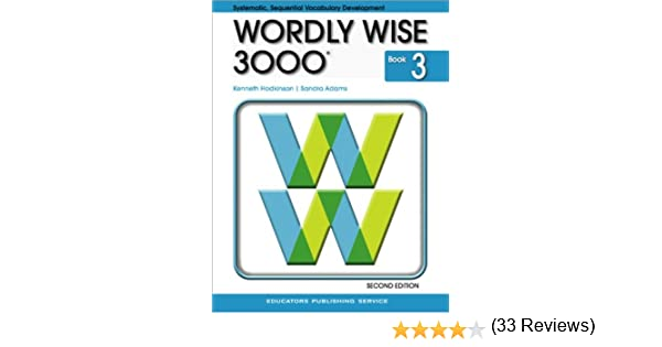 Wordly Wise 3000 Grade 3 Student Book - 2nd Edition: Kenneth ...